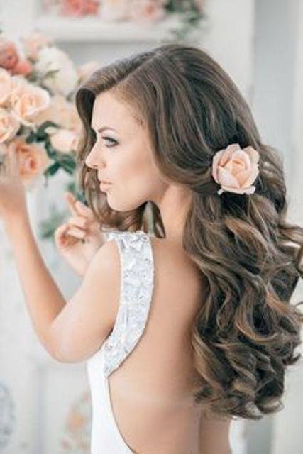 10 penteados florais criativas para uma noiva mola novo