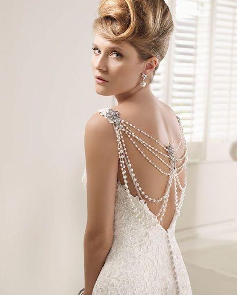 15 casamento vestidos chiques do vintage para a noiva moderna