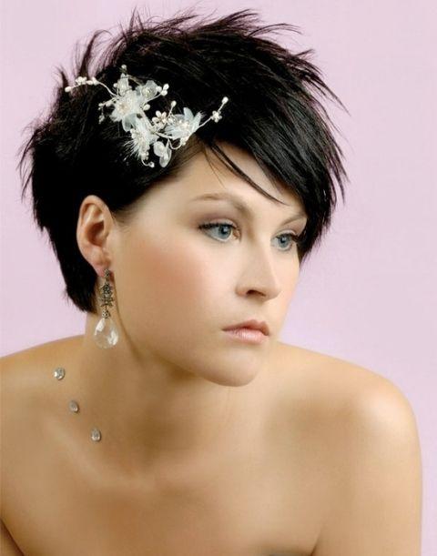 15 penteados casamento do divertimento para noivas com cabelos curtos