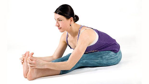 flexão sentado em direcção'avant