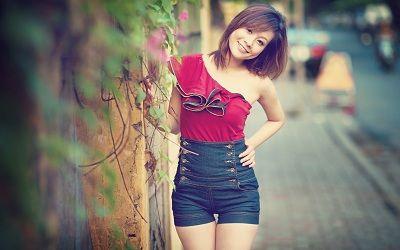 Maria Nguyen seis semanas de perda de peso da gravidez
