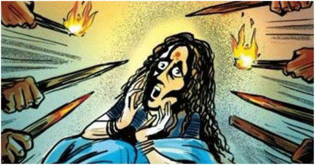 mulher de 63 anos de idade Assamese decapitado por suspeita de ser uma bruxa