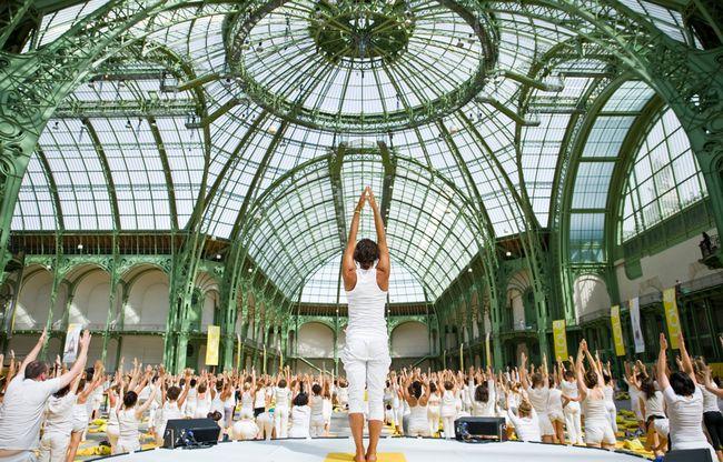 7 ioga Inspiring mega-eventos em todo o mundo