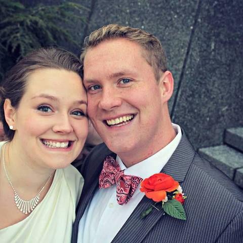 A fotografia de casamento casal photobombs fantasmas!
