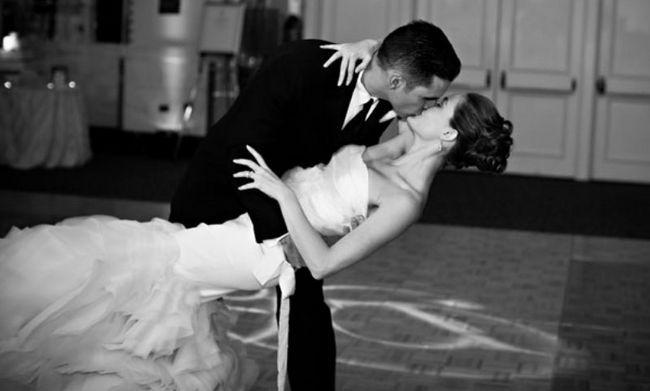 E o casamento e a primeira dança das canções mais populares