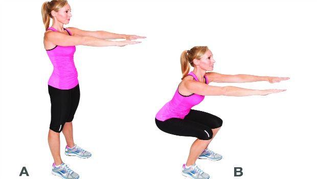 Melhores exercícios para as coxas e quadris mais magro