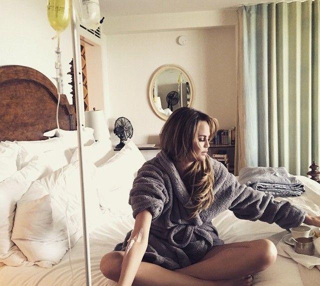Iv A casa poderia curar o seu problema de saúde (ou de ressaca)?
