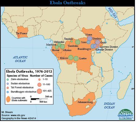 Ebola virose imagens