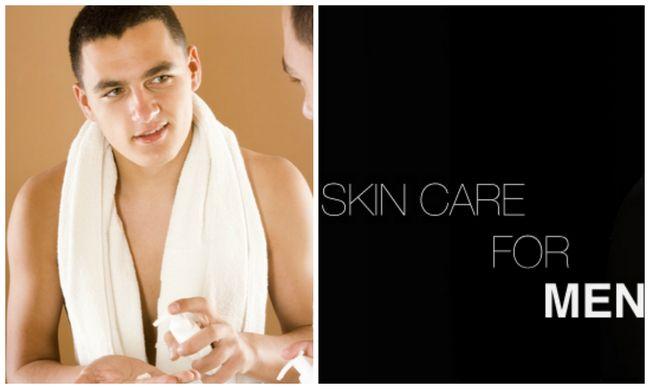 Cuidados Dicas para a pele essencial para homens