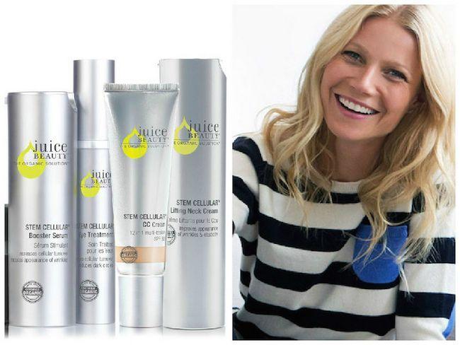 Gwyneth Paltrow é agora diretor criativo de suco de maquiagem beleza