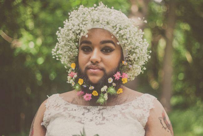 Harnaam Kaur, a flor noiva barbudo que vai fazer você olhar para a beleza de forma diferente