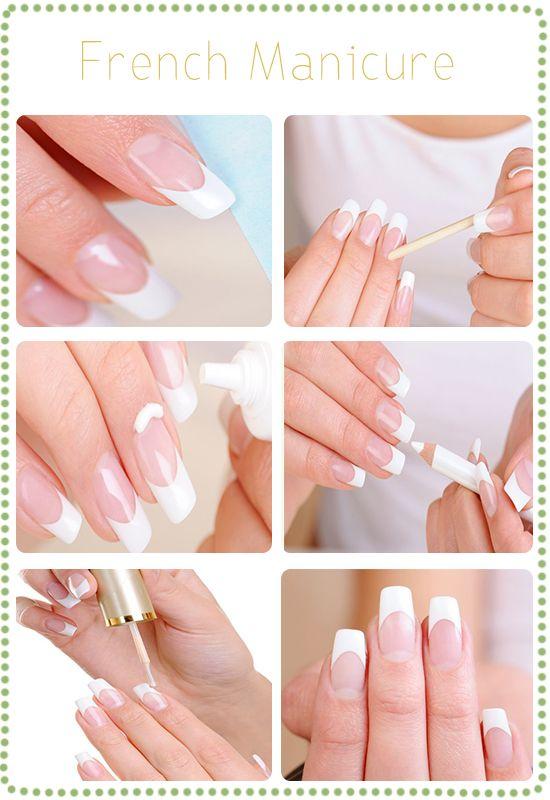 Como fazer uma manicure francesa em casa?