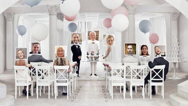 Ikea torna o casamento virtual de uma coisa real!