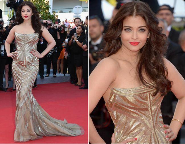 estilo indiano diva em Cannes