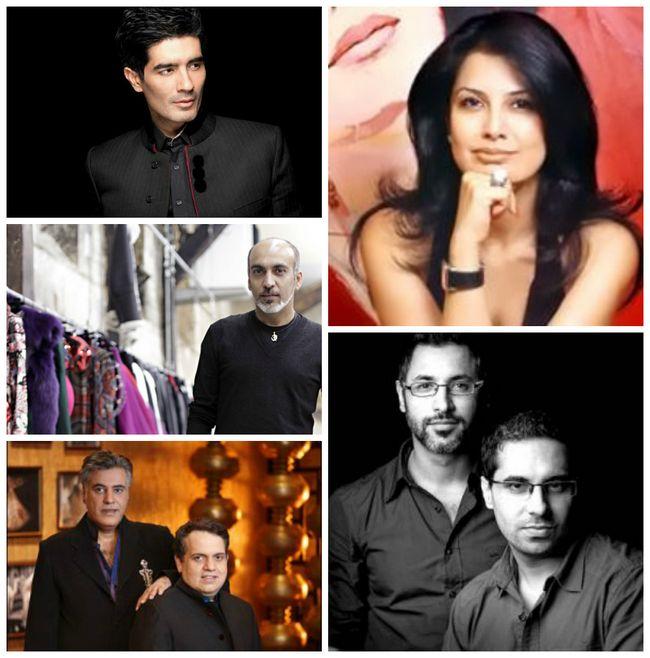 os maiores designers de moda na Índia