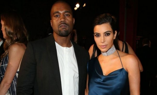 Kanye West e Kim kardashian1