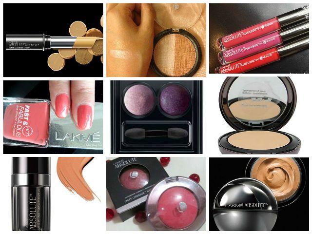 cuidado Lakme Absoluto e gama make-up