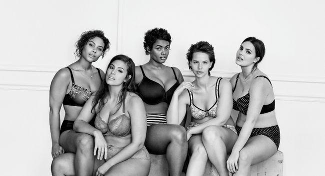#imnoangel A campanha publicitária da Lane Bryant Lingerie leva uma escavação em rival Victoria Secret