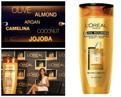 L'Oréal Paris shampoo de alimentação 6 de petróleo