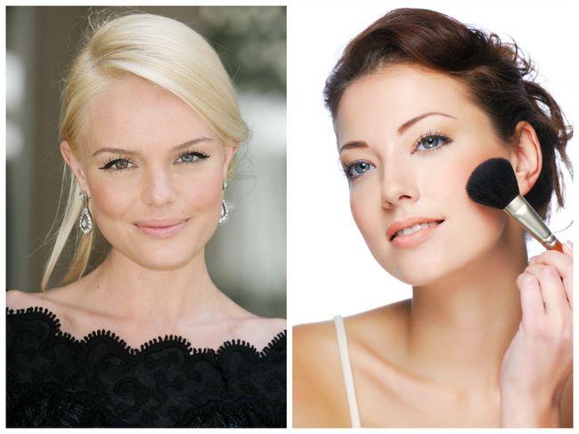 Maquiagem para uma aparência natural