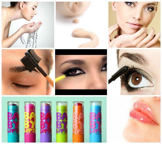 Maquiagem para meninas da faculdade