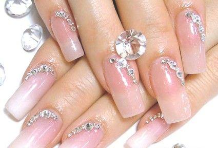 nail art pedra maravilhosa