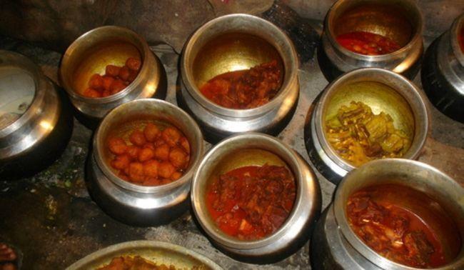 pratos de Wazwan