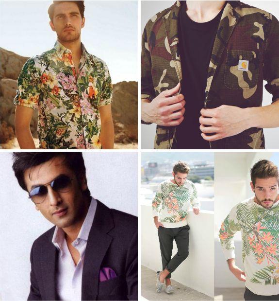 As tendências em roupas para homens até 2014
