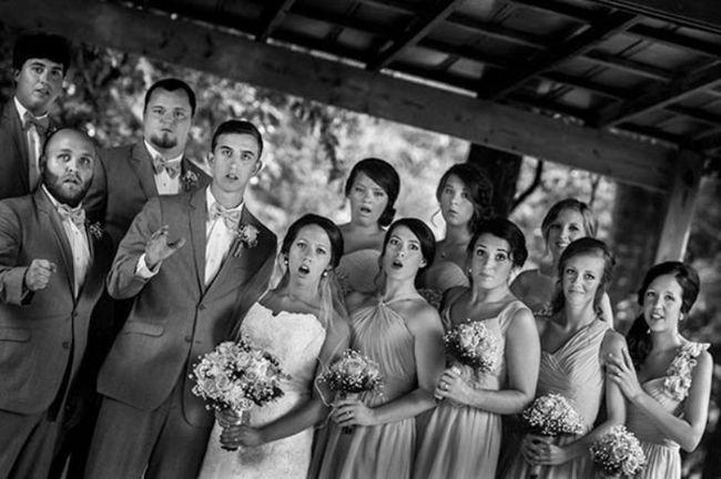 Mississippi fotógrafo capturou épica foto do casamento como ele caiu!