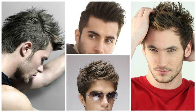penteados populares para meninos de faculdade