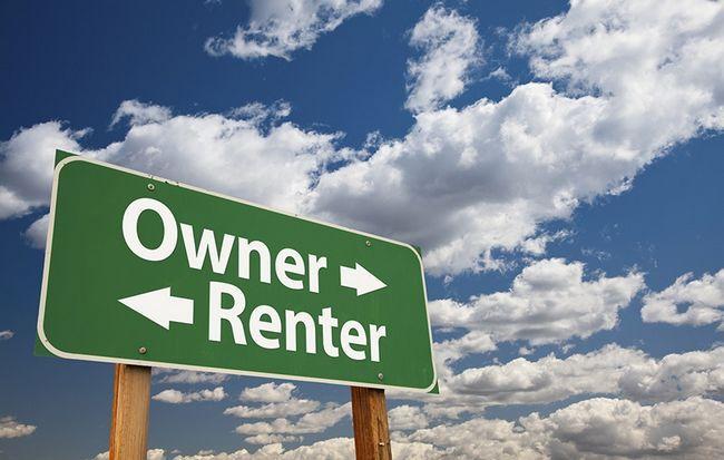 Alugar contra possuir uma casa