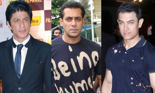 Shahrukh Khan, Salman Khan e Aamir Khan para estrelar um filme !!!
