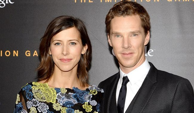 Sherlock estrela Benedict Cumberbatch está tudo pronto para sediar uma cumberbaby!