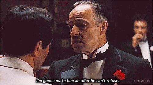 Que uma vez, quando Marlon Brando recusou um Oscar por