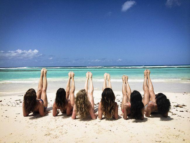 7 maneiras de entrar em forma para o paraíso de verão com formadores de superstar
