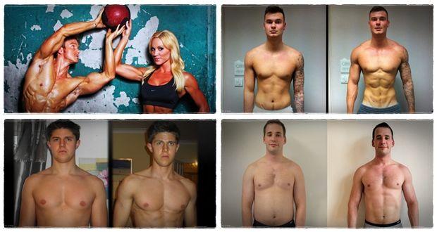 como ganhar exercícios musculares