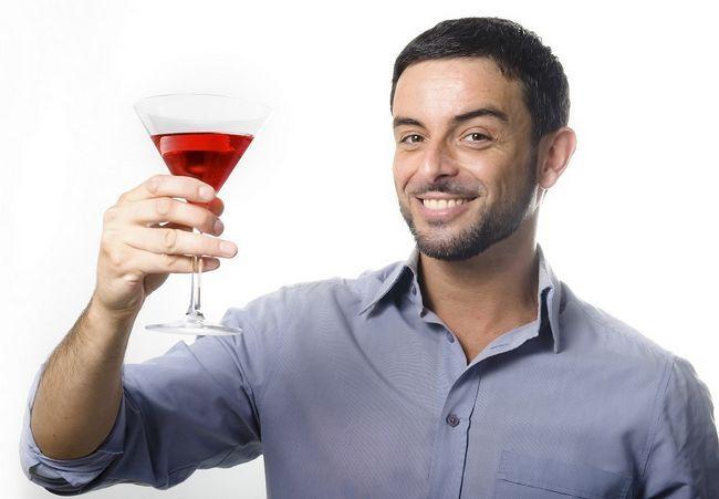 torradas pai com cocktail