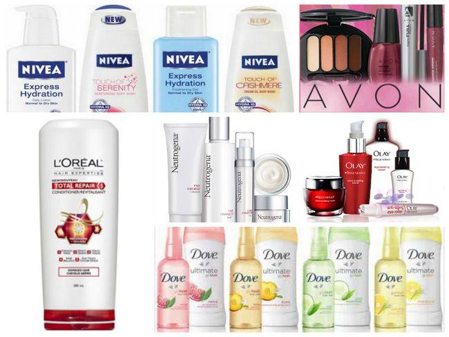 marcas de cosméticos no topo do mundo