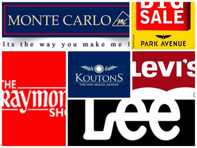 Mais alto marcas de vestuário na Índia