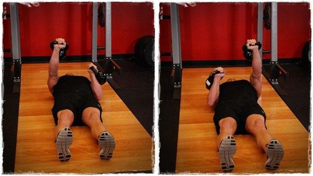 rotina de treino de peito final em casa ou no ginásio