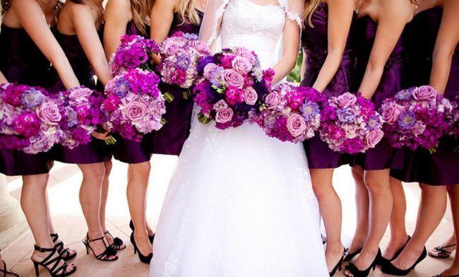 O que suas cores do casamento dizem sobre você