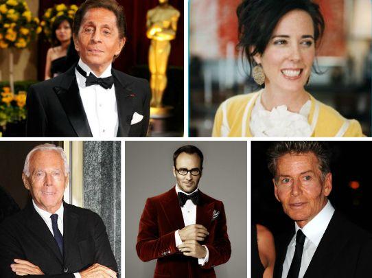os maiores designers de moda do mundo