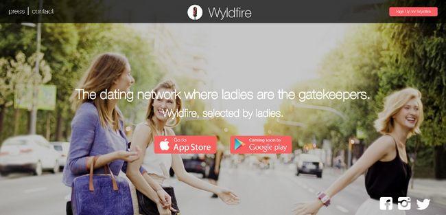 Wyldfire aplicação namoro torna as mulheres os guardiões de arrastar sua experiência de namoro
