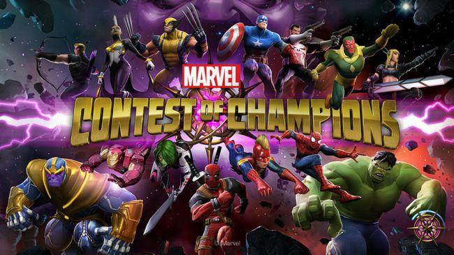 Marvel Concurso cortar nenhuma pesquisa ou senha campeões