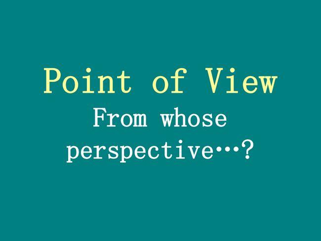 Terceiro ponto de vista da pessoa