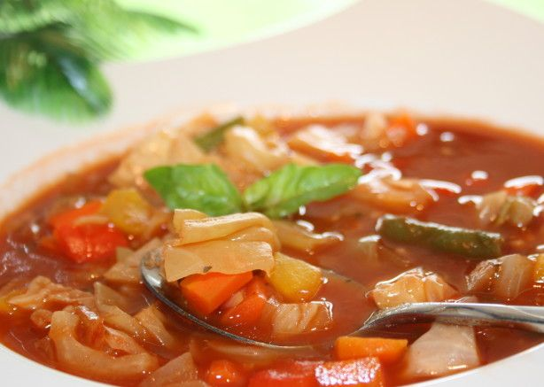 Weight Watchers sopa de repolho