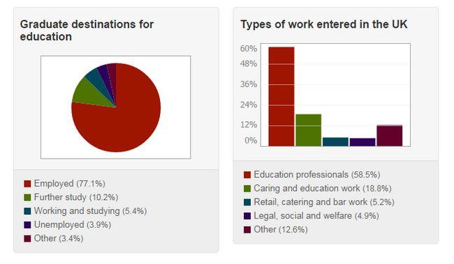 O que você pode fazer com um grau de educação?