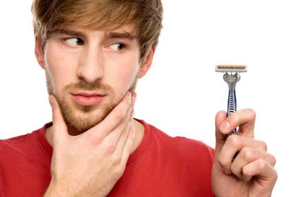 Quando se tempo para raspar sua barba é