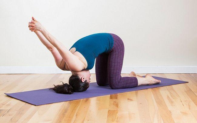 Yoga para dores de cabeça
